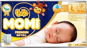 Японские <b>подгузники</b>-<b>трусики Momi Premium</b> р.<b>L</b> 9-14кг N 30 ...