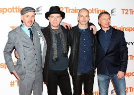 ewan mcgregor and the cast of t trainspotting had an absolute left to right ewen bremner ewan mcgregor jonny lee miller and robert