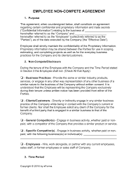 employee non compete agreement template word pdf eforms employee non compete agreement template word pdf fillable forms