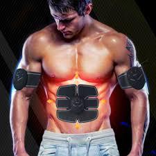 <b>Electric ABS</b> Simulator EMS <b>Training</b> Body <b>Abdominal Muscle</b> ...