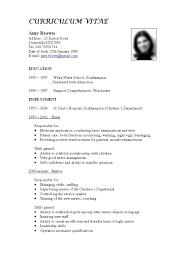 sample resume cv format  seangarrette cosample