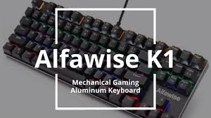 <b>Alfawise K1 LED Backlit</b> Mechanical Keyboard Blue Switch Gaming ...