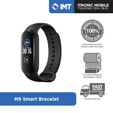 [<b>ORIGINAL</b>] M4 / <b>M5 Smart</b> Bracelet - Black