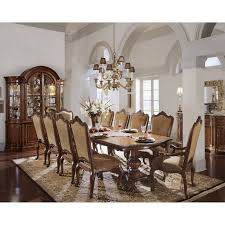 11 Piece Dining Room Set Steve Silver Antoinette 11 Piece Dining Set Dining Table Sets At