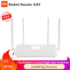 NEW <b>Xiaomi Redmi</b> Router <b>AX5 WiFi</b> 6 1800 5 Core 256M Memory ...