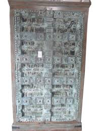 vintage india cabinet reclaimed antique jodhpur teal patina antique english mahogany armoire furniture