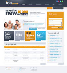 website template  job search finder custom website template  website design template 42669 finder bank portal career company opportunities resume candidate lance profile testimonials gtgt
