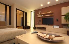 charming living room furniture with modern style furnished with brown sofa and wooden table and completed with ceiling lighting and living room decoration charming living room lights