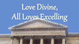 love divine all loves excelling love divine all loves excelling