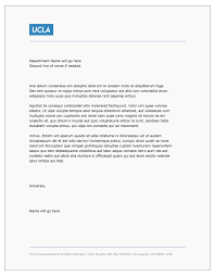 templates ucla brand guidelines letterhead template