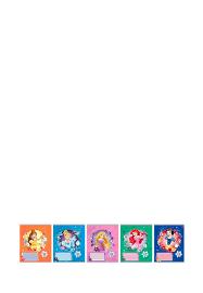<b>Тетрадь Princess 18л КЛЕТКА</b>, скоба, УФ карт 48906250: 29 ...