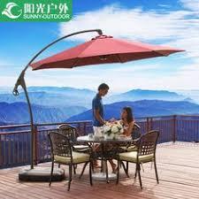 Furniture umbrellas 3 meters large banana umbrella Garden garden ...