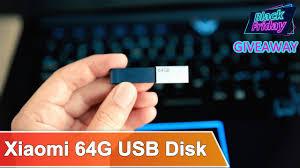 【3 QUOTA FOR FREE!】<b>Xiaomi USB Flash</b> Drive 64G for Black ...