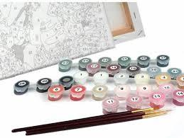 Рисование картин по номерам: техника <b>раскрашивания</b> и выбор ...