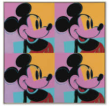 andy warhol quadrant mickey mouse s paintings andy warhol 1928 1987