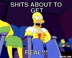 Homer Eating Popcorn Meme Generator - DIY LOL via Relatably.com