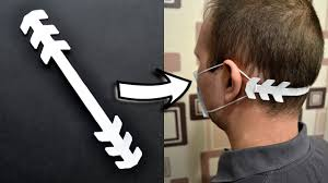 How to make a <b>HOLDER</b> FOR A MEDICAL <b>MASK</b> | Ear guards ...