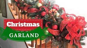 How to Make a Fabulous Christmas <b>Garland</b>   Christmas <b>Decorations</b>