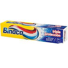 Resultado de imaxes para pasta de dientes binaca