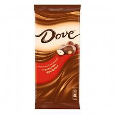Купить <b>Шоколад Dove Молочный</b> с Цельным Фундуком 90г с ...