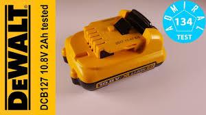 Тест <b>аккумулятора DeWALT</b> DCB127 <b>10.8V</b> 2Ah. Часть 2 - YouTube