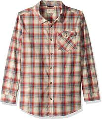 Lucky Brand Boys' Long Sleeve Plaid Button Down ... - Amazon.com
