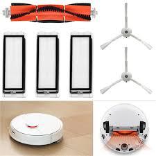 For Xiaomi Roboroc Vacuum Cleaner 1PC <b>Main Brush with 2PCS</b> ...