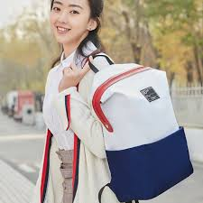 <b>Рюкзак Xiaomi</b> Mi <b>90 Points</b> Lecturer Leisure Backpack White Blue
