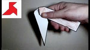 Как сделать раскладной складной нож из <b>бумаги</b> А4 своими ...