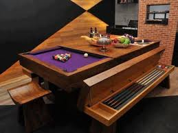 pool table dining tables: cool pool table that becomes a dining room table with dining room pool tables
