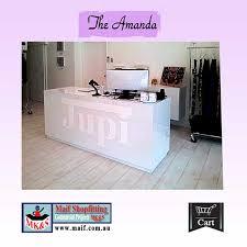 salon reception counter boutique reception counter