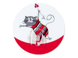 <b>крючок</b> адгезивный <b>Tatkraft FUNNY</b> CATS Chucho   www.gt-a.ru