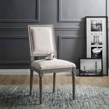 <b>Chairs</b> Upholstered <b>2pcs Dining Chairs</b> Minimalism Design Home ...