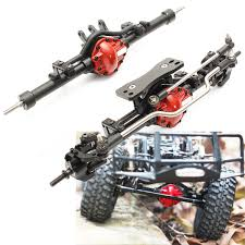 1 10 alloy front and rear axles rc racing axle parts vehicle accessories for scx10