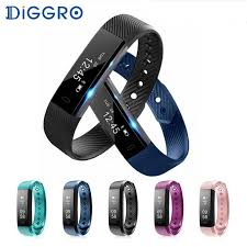 <b>Smart Bracelet</b> Heart Rate Monitor <b>Activity Tracker</b> Waterproof ...