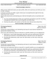 Free Resume Templates   Primer