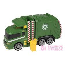 Игрушка <b>машинка</b> Garbage Truck Teamsterz в коробке (1416391 ...