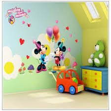 happy childrens bedroom wall