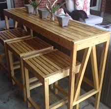 bar height patio chair: garden bar table and stools cis