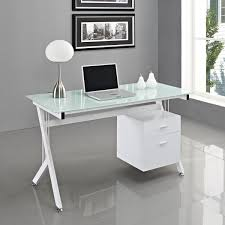 white desk for home office white glass computer desk pc table home office bedroomterrific attachment white office chairs modern