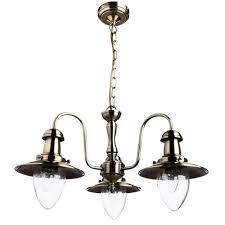 <b>Подвесная люстра Arte Lamp Fisherman</b> A5518LM-3AB — купить ...