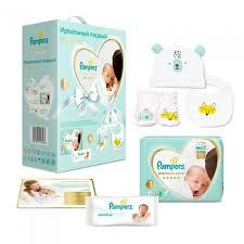 Pampers <b>Подарочный набор</b> Premium Care Размер 1 (2-<b>5</b> кг) 72 ...