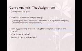 genre analysis practice engl sum genre analysis practice engl 2089 13sum