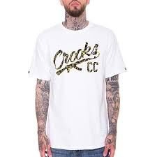 <b>Футболка CROOKS &</b> CASTLES Chain A-K (White) C1710705