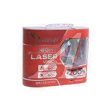 MLH7NLV200 <b>Лампа</b> 12V <b>H7</b> 55W +200% бокс (2шт.) Night Laser ...