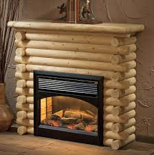 electric fireplace decor image of rustic electric fireplace set