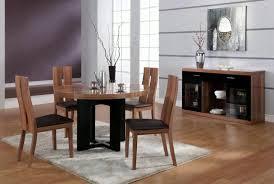 Modern Round Dining Room Tables Innovative Ideas Modern Round Dining Table Set Round Leather