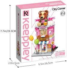 Toys & Games QMAN <b>281pcs</b> Girls Building Blocks Toy Teddy ...