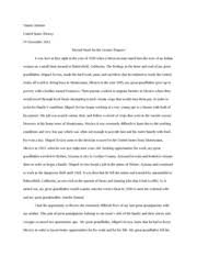 immigration stories essay assignment   timmy briones united states  immigration stories essay assignment   timmy briones united states history