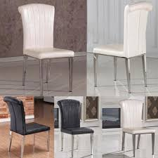 steel dining chairs  classic chair stainless steelleather dining chairsfashion living room